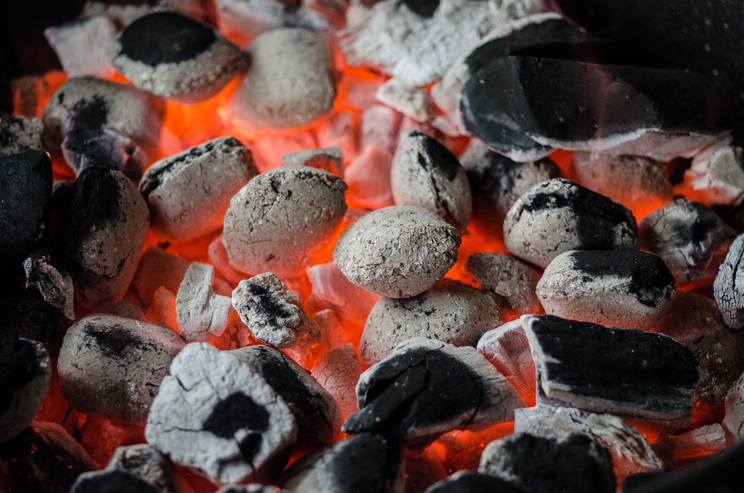 Le charbon et l'hygiène dentaire